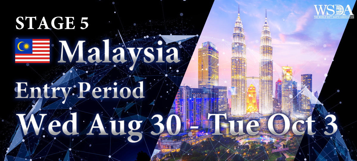 THE WORLD 2017 STAGE 5 MALAYSIA Entries Open