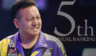 THE WORLD 2018 ANNUAL RANKING 5th / Pupo Teng Lieh