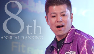 THE WORLD 2018 ANNUAL RANKING 8th / Shuichi Enokuma