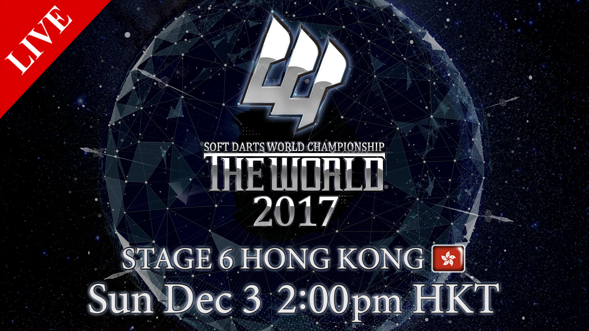 THE WORLD STAGE 6 HONG KONG Sun December 3